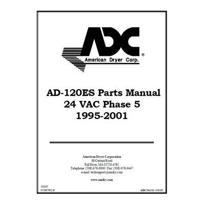 AD-120ES PARTS MANUAL-1995
