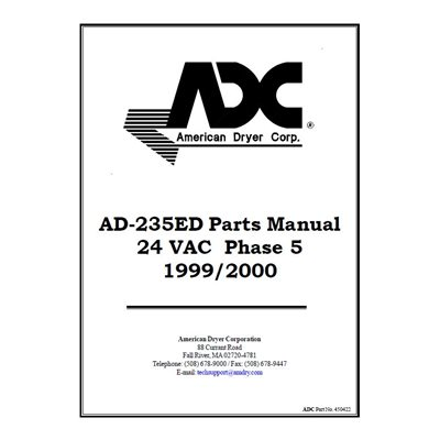 AD-235DE PARTS MANUAL
